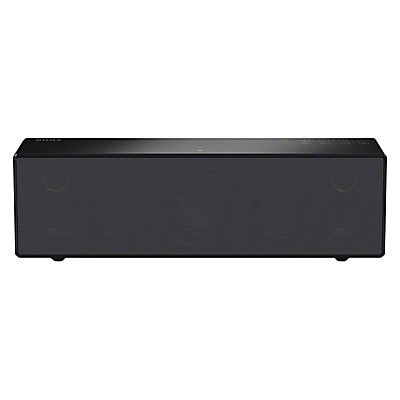 Sony SRS-X88 Wireless Multiroom Bluetooth NFC Wi-Fi Airplay Speaker with High Resolution Audio