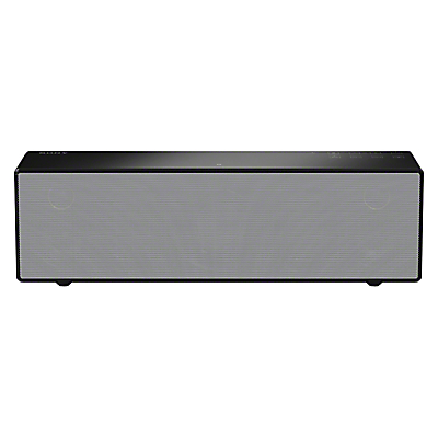 Sony SRS-X88 Wireless Multiroom Bluetooth NFC Wi-Fi Airplay Speaker with High Resolution Audio