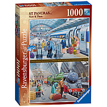 Buy Ravensburger St Pancras Now and Then Jigsaw Puzzle, 1000 Pieces Online at johnlewis.com