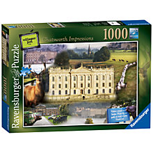 Buy Ravensburger Chatsworth Impressions Jigsaw Puzzle, 1000 Pieces Online at johnlewis.com