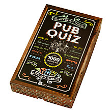 Buy Talking Tables Pub Quiz Online at johnlewis.com