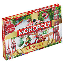 Buy Christmas Monopoly Online at johnlewis.com