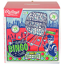 Buy Ridley's Family Bingo Set Online at johnlewis.com