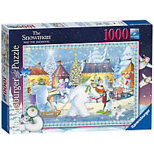 Buy Ravensburger The Snowman Jigsaw Puzzle, 1000 Pieces Online at johnlewis.com