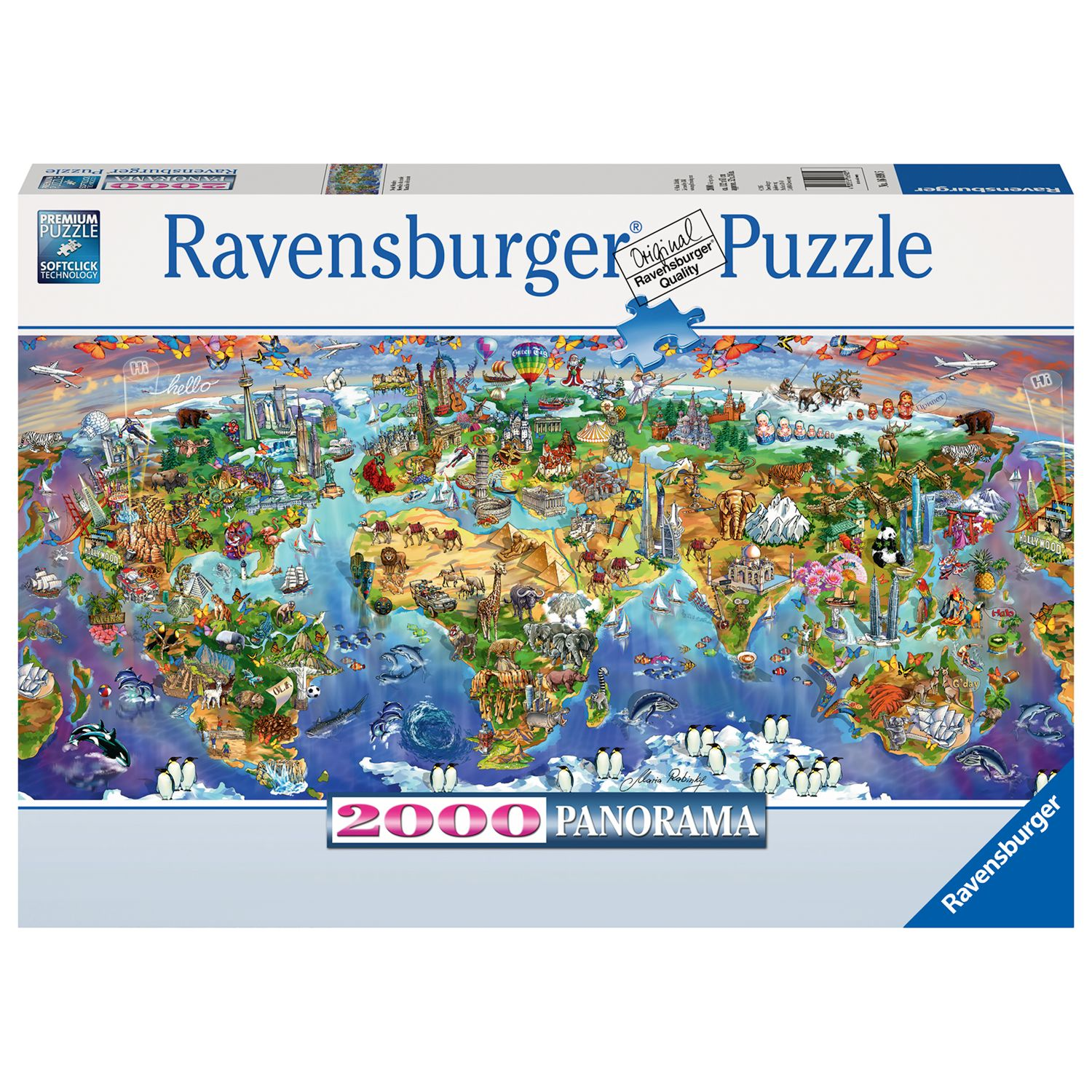 Ravensburger Ravensburger World Wonders Jigsaw Puzzle, 2000 Pieces