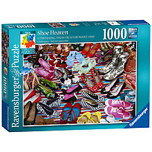 Buy Ravensburger Shoe Heaven Jigsaw Puzzle, 1000 Pieces Online at johnlewis.com