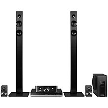Buy Panasonic SC-BTT465EB9 5.1 3D HD 1080p Smart Bluetooth NFC Blu-Ray Home Cinema System and John Lewis HDMI Cable, 2m Online at johnlewis.com