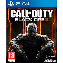 Buy Call of Duty: Black Ops 3, PS4 Online at johnlewis.com