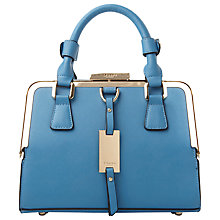 Buy Dune Dinidiana Metal Frame Grab Bag, Cornflower Blue Online at johnlewis.com