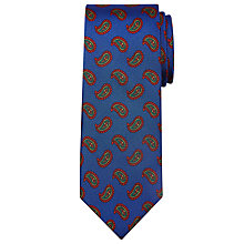Buy Peckham Rye Made In England Medium Paisley Silk Tie Online at johnlewis.com
