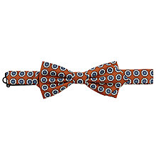 Buy Peckham Rye Made In England Floral Medallion Bow Tie Online at johnlewis.com
