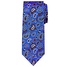 Buy Peckham Rye Made In England Fine Paisley Silk Tie Online at johnlewis.com