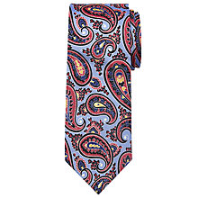 Buy Peckham Rye Made In England Large Paisley Silk Tie Online at johnlewis.com
