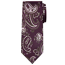 Buy Peckham Rye Made In England Paisley Silk Tie Online at johnlewis.com