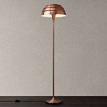 Buy John Lewis Oslo Floor Lamp, Copper Online at johnlewis.com