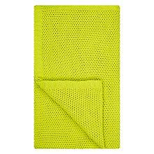 Buy House by John Lewis Knitted Throw, Dandelion Online at johnlewis.com