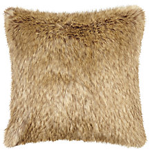 Buy Helene Berman Rowland Wolf Cushion, Brown Online at johnlewis.com