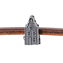 Buy Trollbeads Amsterdam Town House Charm, Silver Online at johnlewis.com
