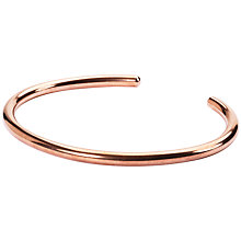 Buy Trollbeads Extra Small Copper Bangle, Copper Online at johnlewis.com