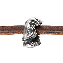 Buy Trollbeads Cape Town Trinity Charm, Silver Online at johnlewis.com