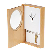 Buy Universal Expert by Sebastian Conran Clock Key Cabinet Online at johnlewis.com