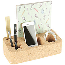 Buy Universal Expert by Sebastian Conran Cork Desk Organiser Online at johnlewis.com