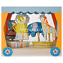 Buy Meri Meri Silly Circus Cupcake Kit Online at johnlewis.com