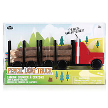 Buy Natural Products Log Pencil Truck Online at johnlewis.com