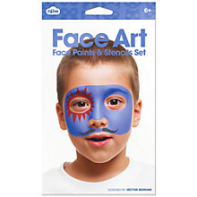 Buy Npw Face Paint and Stencil Set Online at johnlewis.com