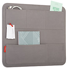 Buy Universal Expert by Sebastian Conran Canvas Pin Board, Grey Online at johnlewis.com