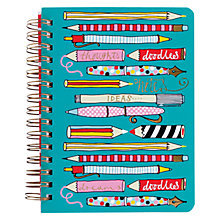 Buy Rachel Ellen Pens and Pencils A6 Notebook Online at johnlewis.com