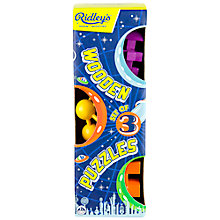 Buy Ridley's Wooden Puzzles, Set of 3 Online at johnlewis.com