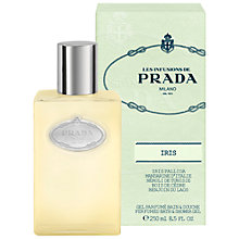 Buy Prada Les Infusions de Prada Iris Shower Gel Shower Gel, 250ml Online at johnlewis.com