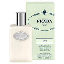 Buy Prada Les Infusions de Prada Iris Body Lotion, 250ml Online at johnlewis.com