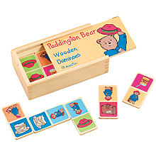Buy Paddington Bear Wooden Dominoes Online at johnlewis.com