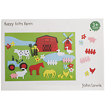 Buy John Lewis Fuzzy Farm Felts Online at johnlewis.com