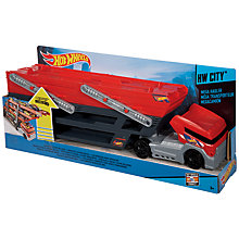 Buy Hot Wheels City Mega Hauler Toy Truck Online at johnlewis.com
