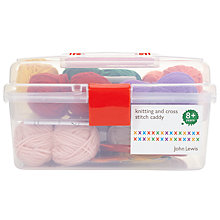 Buy John Lewis Knitting & Cross Stitch Caddy Online at johnlewis.com