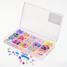 Buy John Lewis Assorted Bead Box Online at johnlewis.com