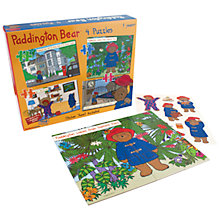 Buy Paddington Bear, Set of 4 Puzzles Online at johnlewis.com