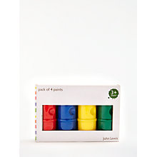 Buy John Lewis Plain Paints, Pack of 4 Online at johnlewis.com