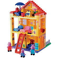 Buy Peppa Pig House Construction Set Online at johnlewis.com