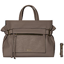 Buy Calvin Klein Cecile Leather Tote Bag Online at johnlewis.com