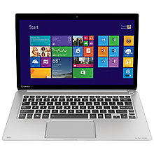"Buy Toshiba Kira-107 Ultrabook, Intel Core i7, 8GB RAM, 256GB SSD, 13.3"" Touch Screen + Norton Security 2.0: 1 User, 5 Devices Online at johnlewis.com"