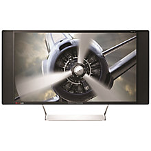 "Buy HP Envy 32 Media Display Quad HD LED PC Monitor with BeatsAudio, 32"", Black Online at johnlewis.com"