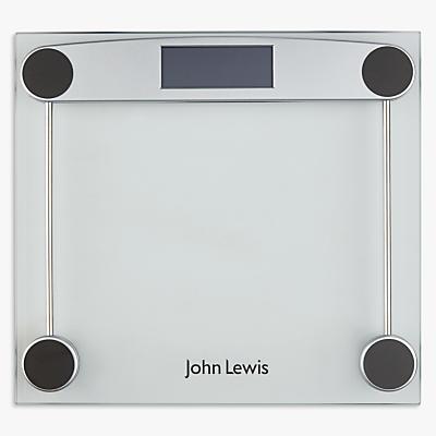 John Lewis Digital Glass Bathroom Scale