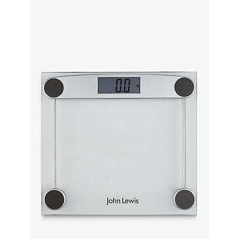 Buy John Lewis Digital Glass Bathroom Scale John Lewis