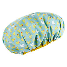Buy John Lewis Duck Print Shower Cap Online at johnlewis.com