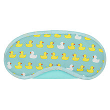 Buy John Lewis Duck Print Eye Mask Online at johnlewis.com