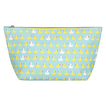 Buy John Lewis Duck Print Wash Bag Online at johnlewis.com